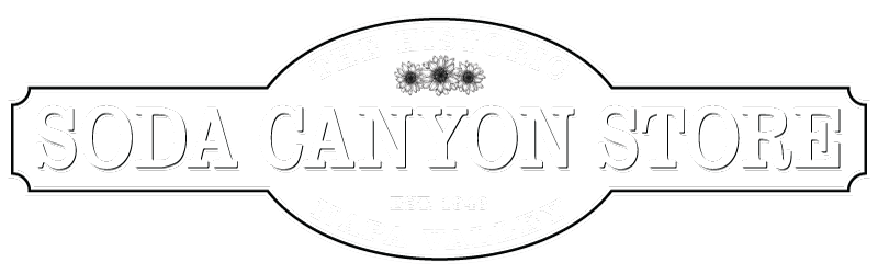 Soda Canyon Store logo in white