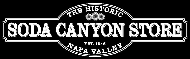 Soda Canyon Store logo in white